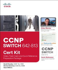 CCNP SWITCH 642-813 Cert Kit: Video, Flash Card, and Quick Reference Preparation Package (Paperback)-cover