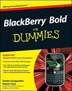 BlackBerry Bold For Dummies (Paperback)-cover