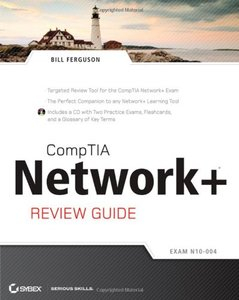CompTIA Network+ Review Guide: (Exam: N10-004) (Paperback)-cover