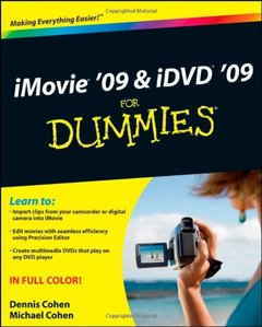 iMovie 09 & iDVD 09 For Dummies (Paperback)-cover