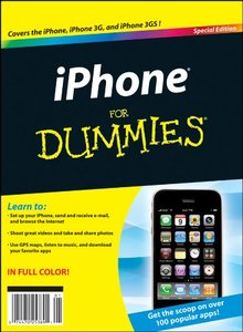 Iphone for Dummies (Paperback)-cover