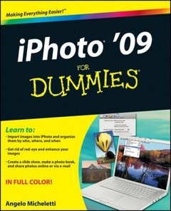 iPhoto '09 For Dummies (Paperback)-cover