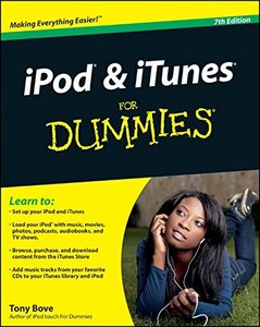 iPod & iTunes For Dummies, 7/e (Paperback)-cover