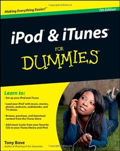 iPod and iTunes For Dummies, Book + DVD Bundle, 7/e (Paperback)-cover