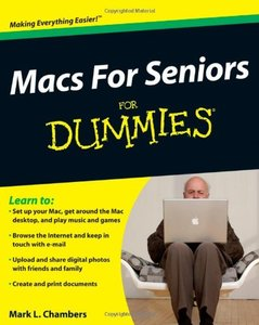 Macs For Seniors For Dummies (Paperback)-cover