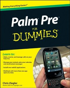 Palm Pre For Dummies (Paperback)-cover