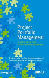 Project Portfolio Management: A View from the Management Trenches (Hardcover)-cover