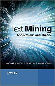 Text Mining: Applications and Theory (Hardcover)-cover