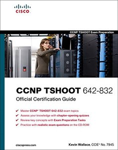 CCNP TSHOOT 642-832 Official Certification Guide (Hardcover)-cover
