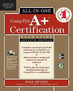 CompTIA A+ Certification All-in-One Exam Guide, 7/e (Exams 220-701 & 220-702) (Hardcover)-cover