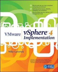 VMware vSphere 4 Implementation (Paperback)-cover