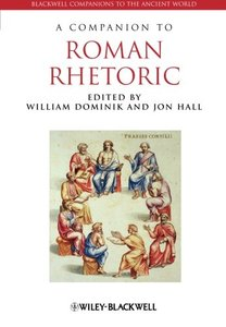 A Companion to Roman Rhetoric (Paperback)-cover