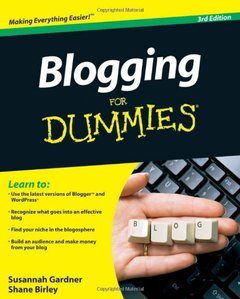 Blogging For Dummies, 3/e (Paperback)-cover