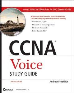 CCNA Voice Study Guide: Exam 640-460 (Paperback)-cover