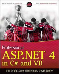 Professional ASP.NET 4 in C# and VB (Paperback)-cover