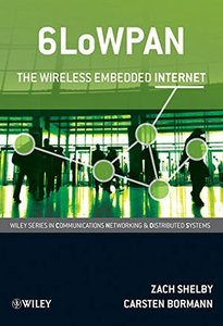 6LoWPAN: The Wireless Embedded Internet (Hardcover)-cover