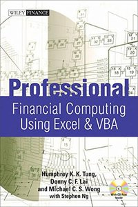 Professional Financial Computing Using Excel & VBA (Hardcover)-cover