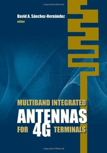 Multiband Integrated Antennas for 4G Terminals (Hardcover)-cover