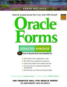 Oracle Forms Interactive Workbook (Paperback)-cover
