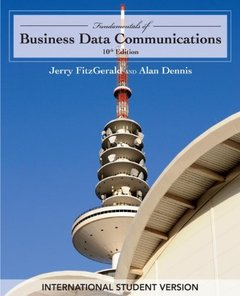 Fundamentals of Business Data Communications, 10/e (Paperback)-cover
