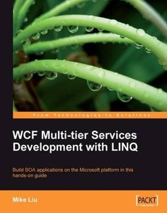 WCF Multi-tier Services Development with LINQ (Paperback)-cover