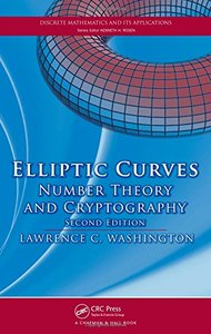 Elliptic Curves: Number Theory and Cryptography, 2/e-cover