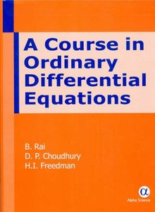A Course in Ordinary Differential Equations (Hardcover)-cover