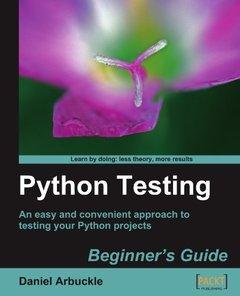 Python Testing: Beginner's Guide (Paperback)-cover
