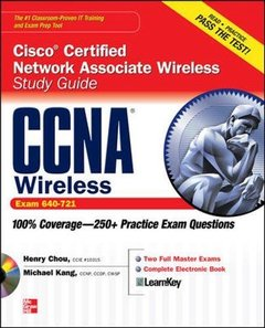 CCNA Cisco Certified Network Associate Wireless Study Guide (Exam 640-721) (Paperback)
