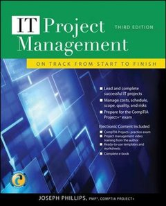 IT Project Management: On Track from Start to Finish, 3/e (Paperback)-cover