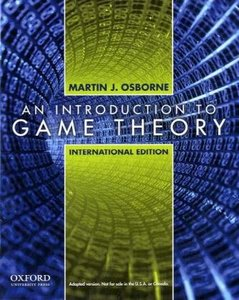 An Introduction to Game Theory (IE-Paperback)-cover