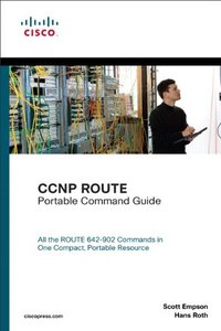 CCNP ROUTE Portable Command Guide (Paperback)-cover
