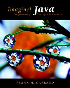 Imagine! Java: Programming Concepts in Context (Paperback)