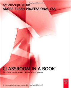 ActionScript 3.0 for Adobe Flash Professional CS5 Classroom in a Book (Paperback)-cover