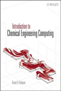 Introduction to Chemical Engineering Computing (Paperback)-cover