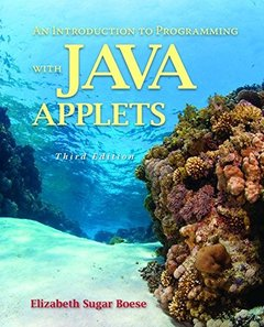 An Introduction to Programming with Java Applets, 3/e (Paperback)
