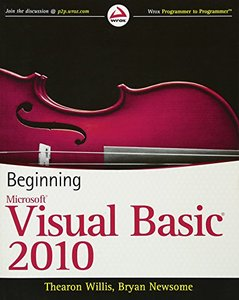 Beginning Visual Basic 2010 (Paperback)-cover