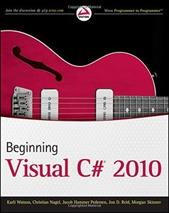 Beginning Visual C# 2010 (Paperback)-cover