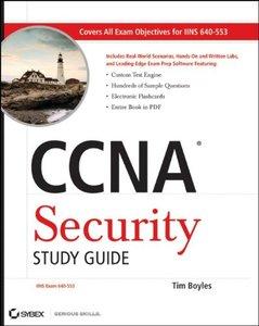 CCNA Security Study Guide: Exam 640-553 (Paperback)-cover