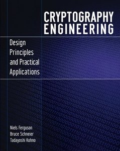 Cryptography Engineering: Design Principles and Practical Applications (Paperback)-cover