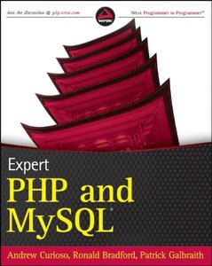 Expert PHP and MySQL (Paperback)-cover