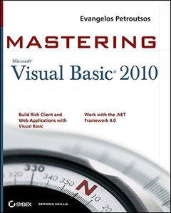 Mastering Microsoft Visual Basic 2010 (Paperback)-cover
