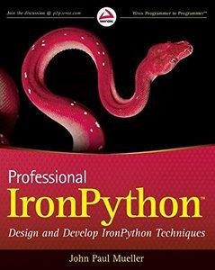 Professional IronPython (Paperback)-cover