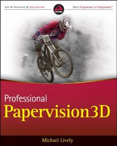 Professional Papervision3D (Paperback)-cover