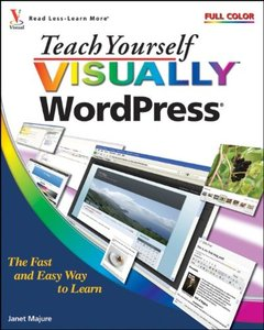 Teach Yourself Visually WordPress (Paperback)-cover