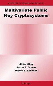 Multivariate Public Key Cryptosystems (Hardcover)-cover