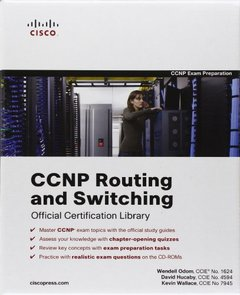 CCNP Routing and Switching Official Certification Library (Exams 642-902, 642-813, 642-832) (Hardcover)-cover