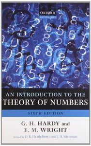 An Introduction to the Theory of Numbers (Paperback)-cover