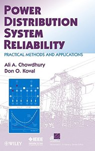 Power Distribution System Reliability: Practical Methods and Applications (Hardcover)-cover
