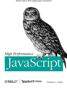 High Performance JavaScript (Paperback)-cover